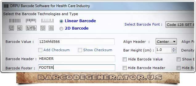 Healthcare Barcode Generator Download