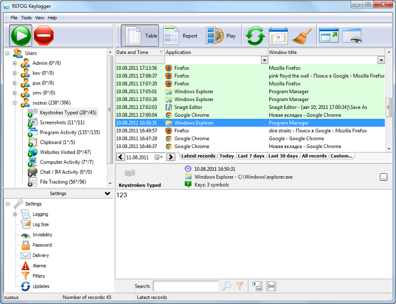 keylogger for windows 7 with crack